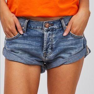 Denim shorts one teaspoon